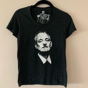 """The Chive Nation """"Bill F'kn Murray"""" Tee / Sz Small"""